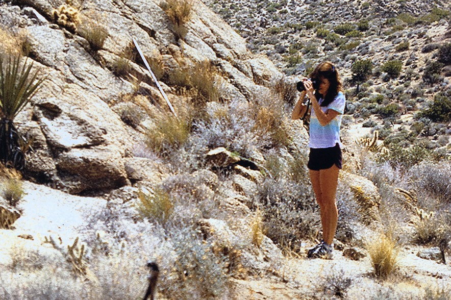 Photography in the desert
